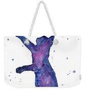 Playful Galactic Cat Weekender Tote Bag