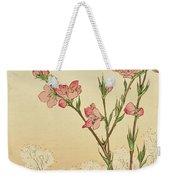 Plum Or Cherry Blossom Weekender Tote Bag