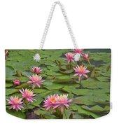 Pond Decor Weekender Tote Bag