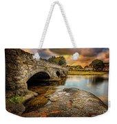 Pont Pen-y-llyn Bridge Snowdonia Weekender Tote Bag