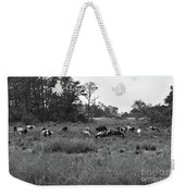 Pony Herd Bnw Weekender Tote Bag