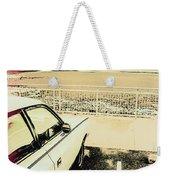 Pop Art Beach Carpark  Weekender Tote Bag