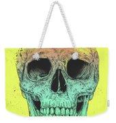Pop Art Skull Weekender Tote Bag