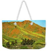 Poppy Hills And Gullies Weekender Tote Bag