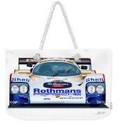 Porsche 962 Al Holbert Racing Weekender Tote Bag