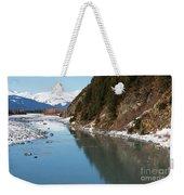 Portage Creek Portage Glacier Highway Alaska Weekender Tote Bag