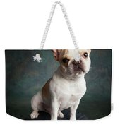 Portrait Of A French Bulldog Weekender Tote Bag