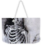 Portrait Of A Skeleton Weekender Tote Bag