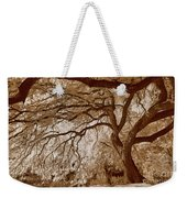 Portrait Of A Tree In Infrared Weekender Tote Bag