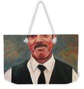 Portrait Of Artist Carl Butler Weekender Tote Bag