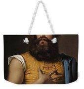 Portrait Of Giovanni Belzoni Weekender Tote Bag