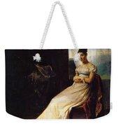 Portrait Of Laura Bro 1820 Weekender Tote Bag