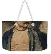 Portrait Of Mustapha Weekender Tote Bag