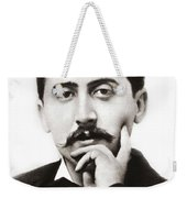Portrait Of The French Author Marcel Proust Weekender Tote Bag