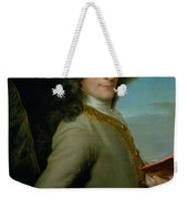 Portrait Of The Young Voltaire  Weekender Tote Bag