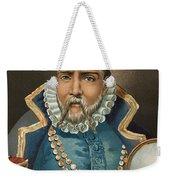 Portrait Of Tycho Brahe Weekender Tote Bag