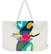 Positive Colors Building Weekender Tote Bag