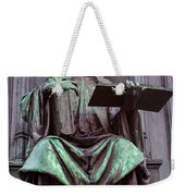 Prague Statue Weekender Tote Bag