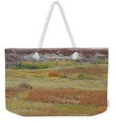 Prairie Reverie On The Western Edge Weekender Tote Bag