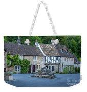 Pre-dawn In Castle Combe Weekender Tote Bag by Brian Jannsen