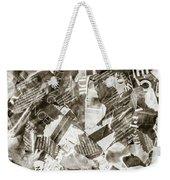 Press Print Parchment Weekender Tote Bag