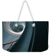 Pretty Blue Spiral Staircase Weekender Tote Bag