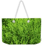 Pretty Green Weekender Tote Bag by Nick Bywater