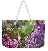 Print Weekender Tote Bag by Clint Hansen