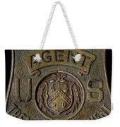 Prohibition Agent Badge Weekender Tote Bag