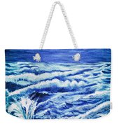 Promethea Ocean Triptych 3 Weekender Tote Bag