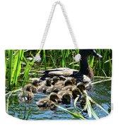 Proud Mother Duck Weekender Tote Bag