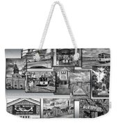Provincetown Cape Cod Massachusetts Collage Pa Bw Weekender Tote Bag