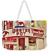 Provincetown Tradition Lobster Pot Weekender Tote Bag