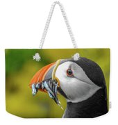 Puffin With A Mouthful Weekender Tote Bag