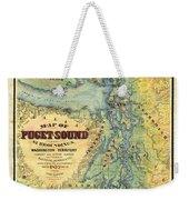 Puget Sound Weekender Tote Bag