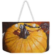 Pumpkin Delight Weekender Tote Bag