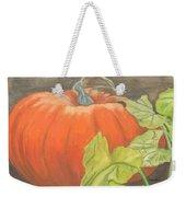 Pumpkin In Patch Weekender Tote Bag
