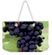 Purple Grape Bunches 19 Weekender Tote Bag