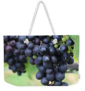 Purple Grape Bunches 20 Weekender Tote Bag