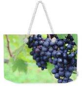 Purple Grape Bunches 21 Weekender Tote Bag