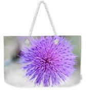 Purple Peace Weekender Tote Bag