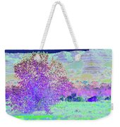 Purple Tree Reverie Weekender Tote Bag