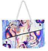 Queen Of Spades Weekender Tote Bag
