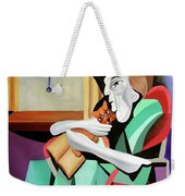 Quiet Time Weekender Tote Bag by Anthony Falbo
