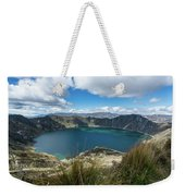 Quilotoa Crater Lake Weekender Tote Bag