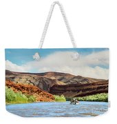 Rafting On The San Juan River Weekender Tote Bag