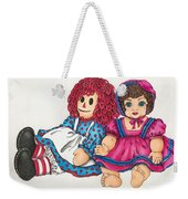 Raggedy Ann And Friend  Weekender Tote Bag