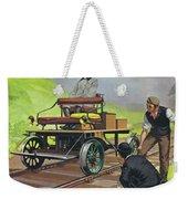 Railway Automobile Weekender Tote Bag