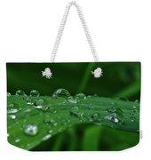 Rain Drops Weekender Tote Bag