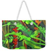 Rain Forest Memories Weekender Tote Bag by Linda Feinberg